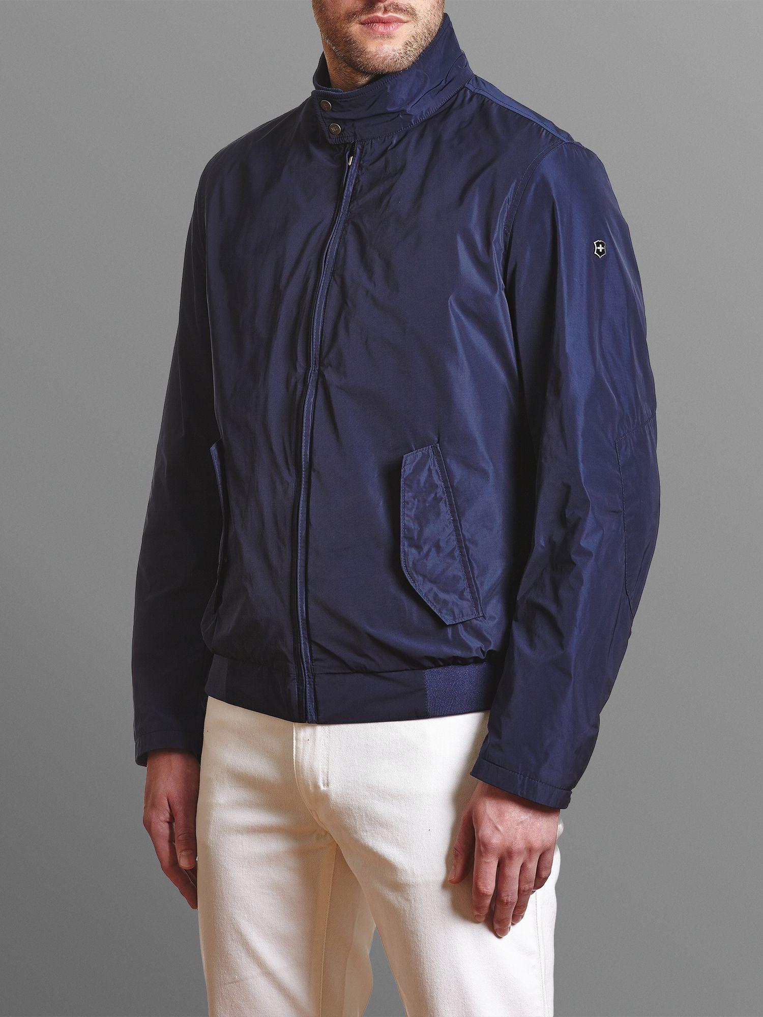 Victorinox Bomber Jacket in Navy (Blue) for Men