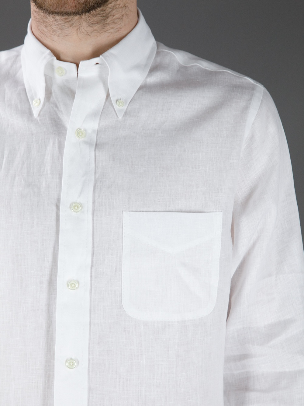 Brooks brothers classic shirt in white for men lyst for Brooks brothers boys shirts