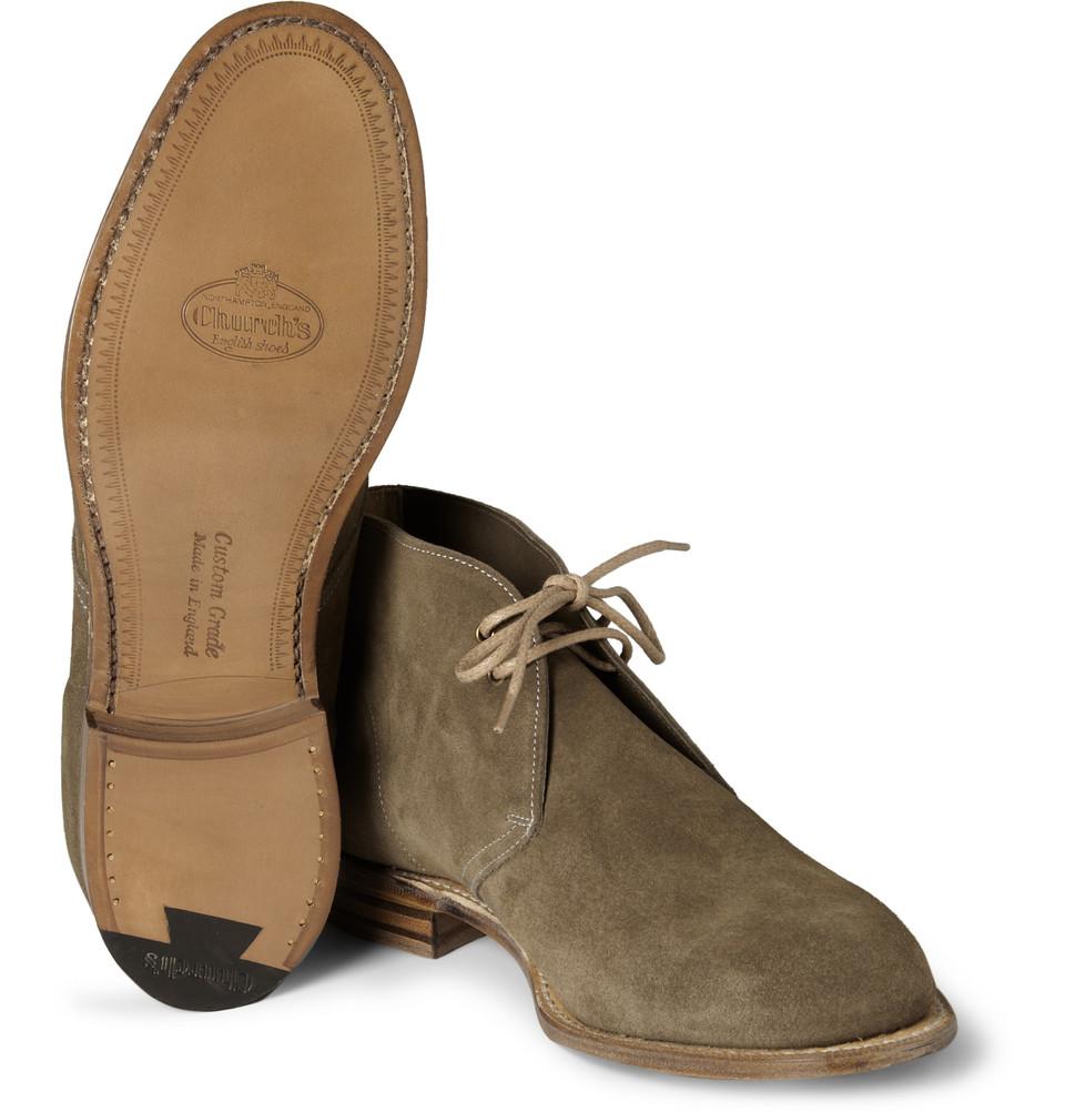 Church's Sahara Chukka boots Zyx90z