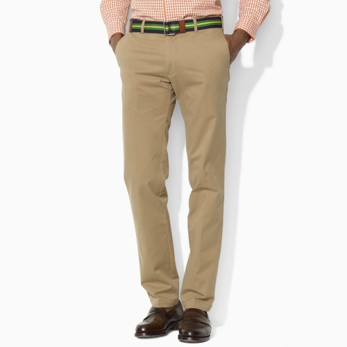 Polo Ralph Lauren Natural Custom-fit Stretch-twill Pant for men
