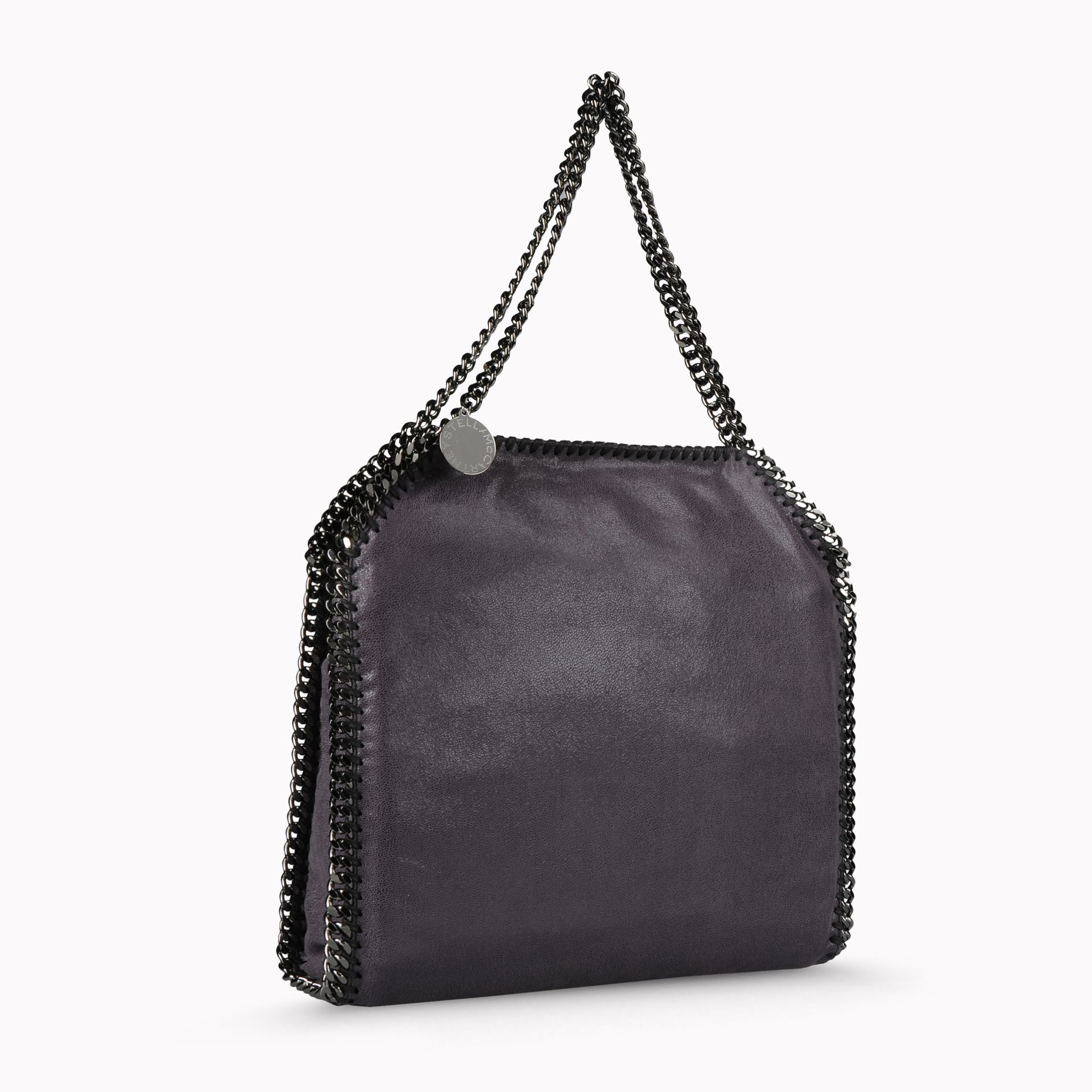 Stella McCartney Synthetic Black Falabella Shaggy Deer Small Tote