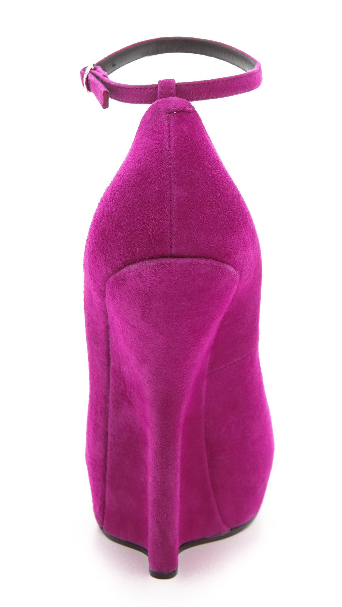 Purple Giuseppe Heels
