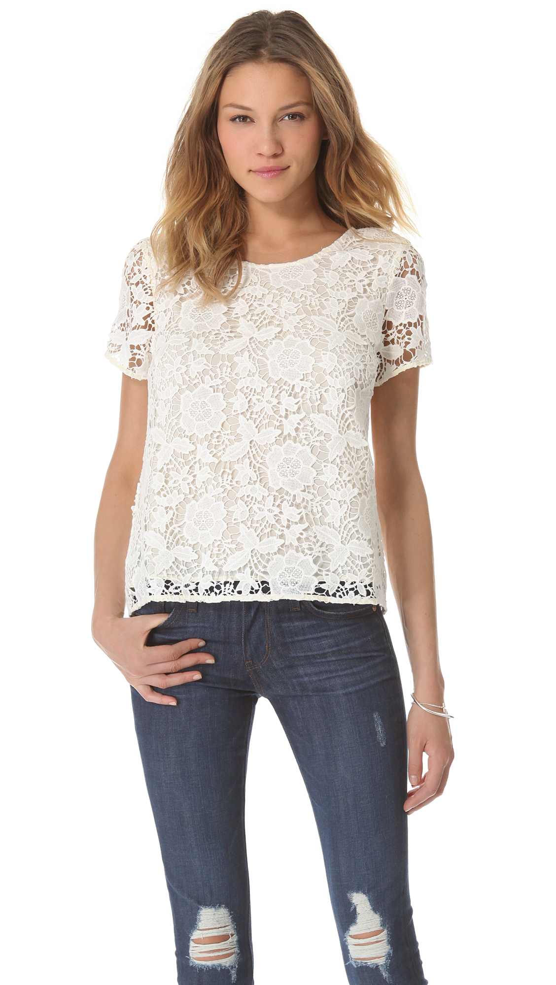 White Tee Shirt Womens