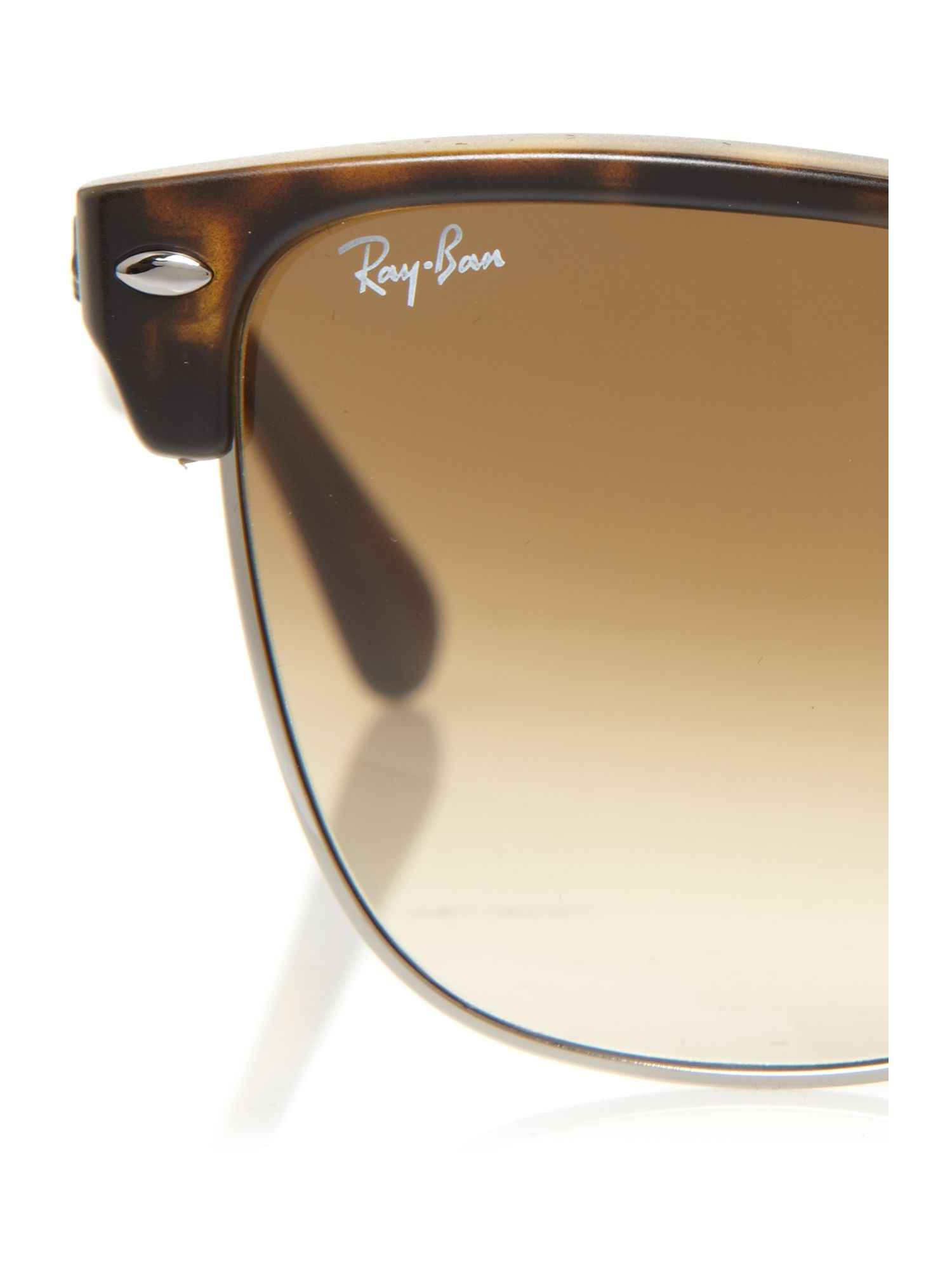oversized clubmaster ray ban 43sj  Gallery