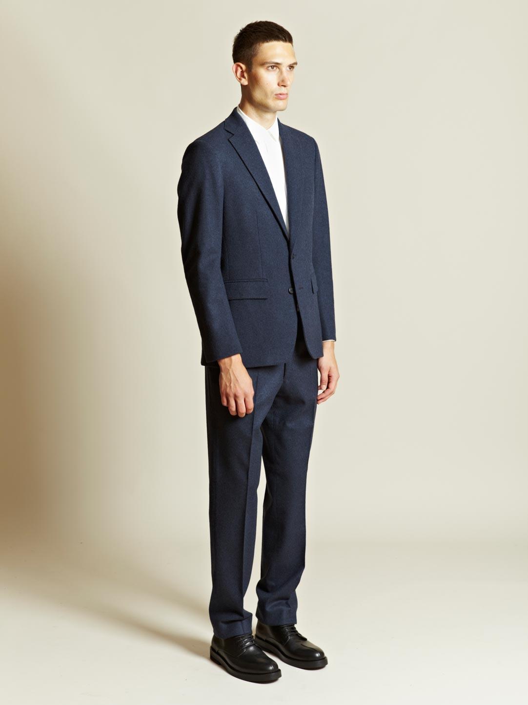 Yang Li Mens Slim Fitted Classic Suit in Gray for Men ...