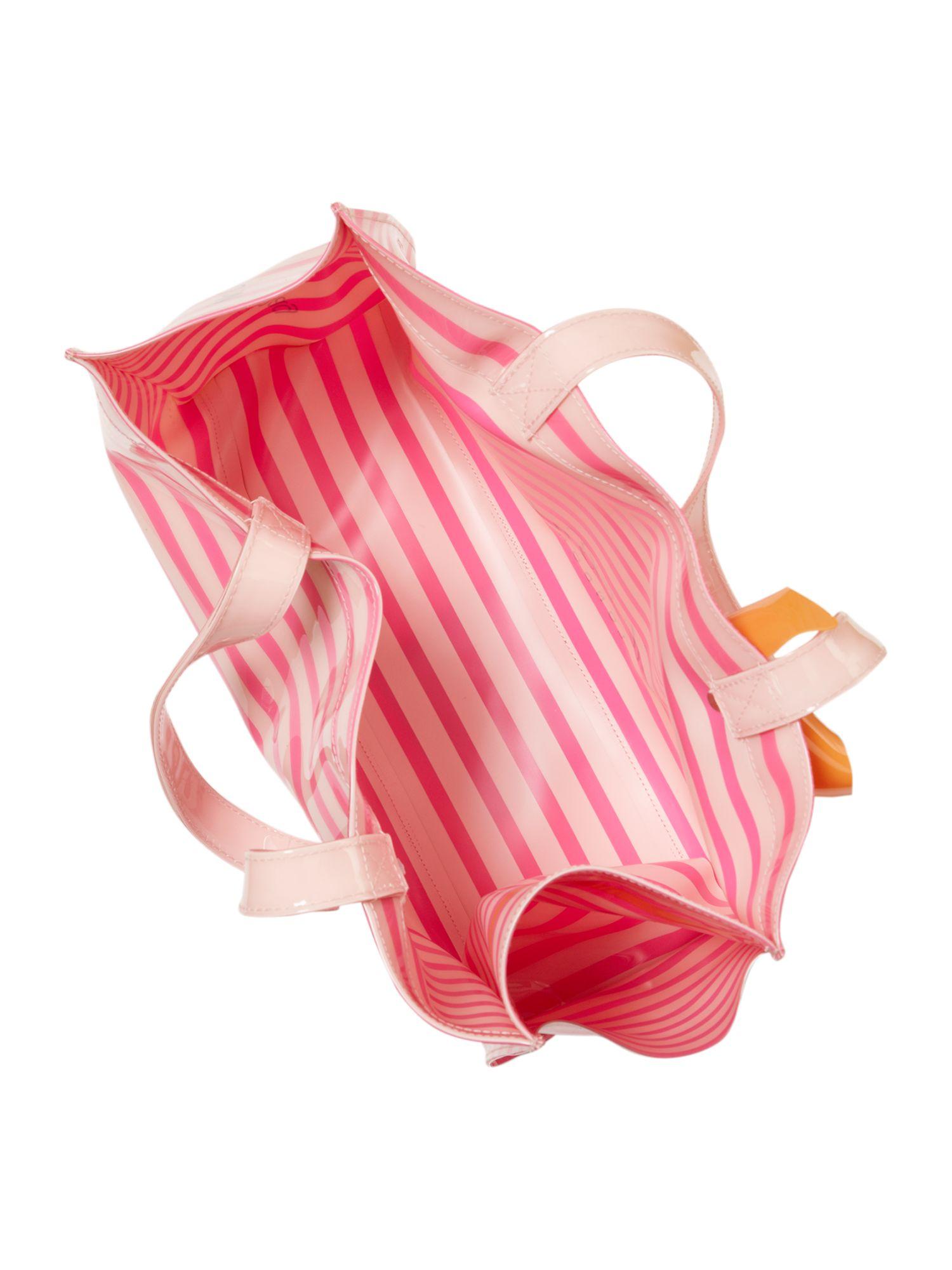 Ted Baker Large Size Flip Flop Tote Bag in Pink