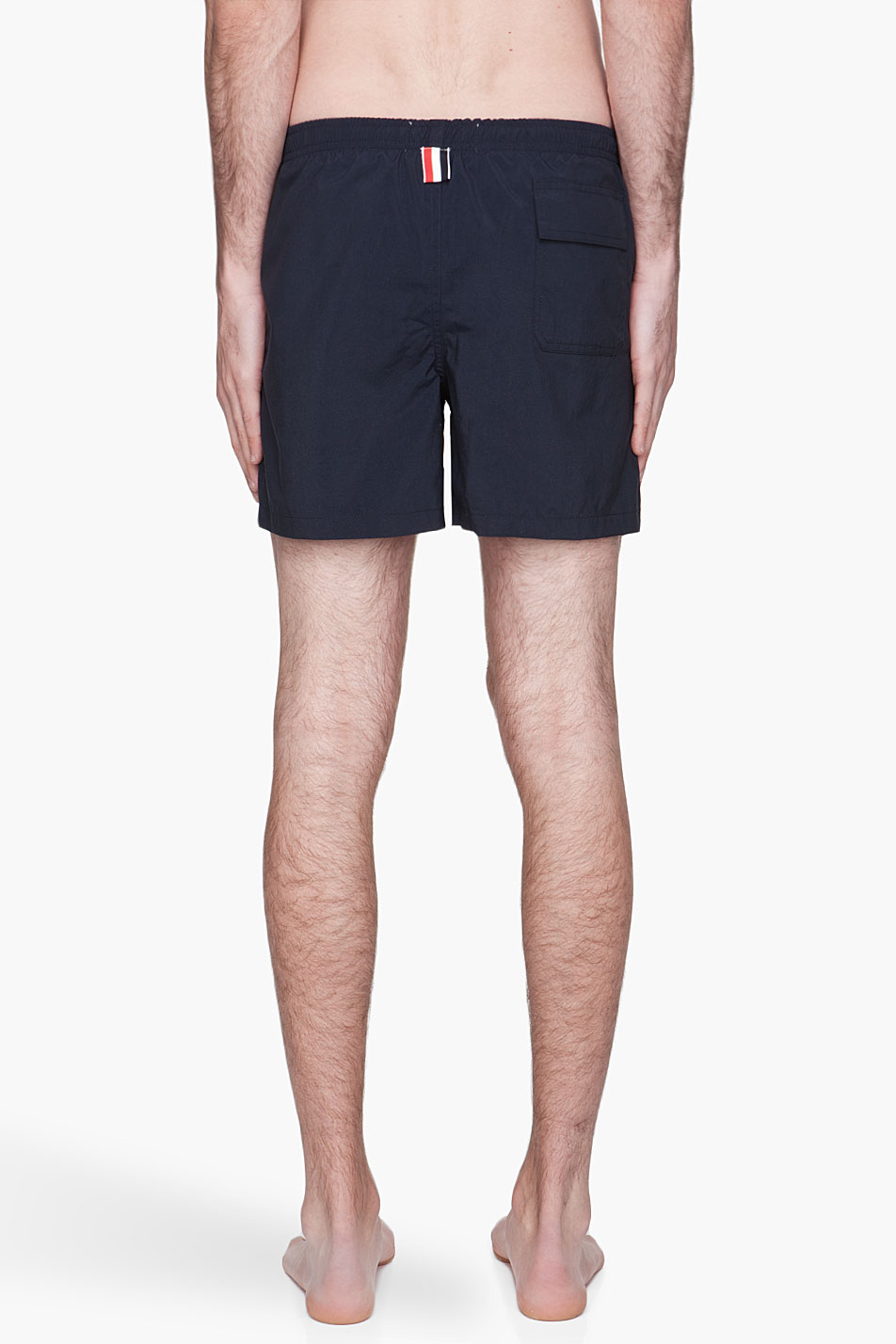 a95e0d57f9 Thom Browne Nylon Taffeta Swin Shorts in Blue for Men - Lyst