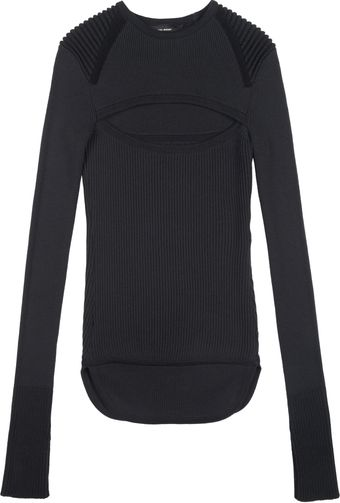 Isabel Marant Bolton Pull-over in Slate - Lyst