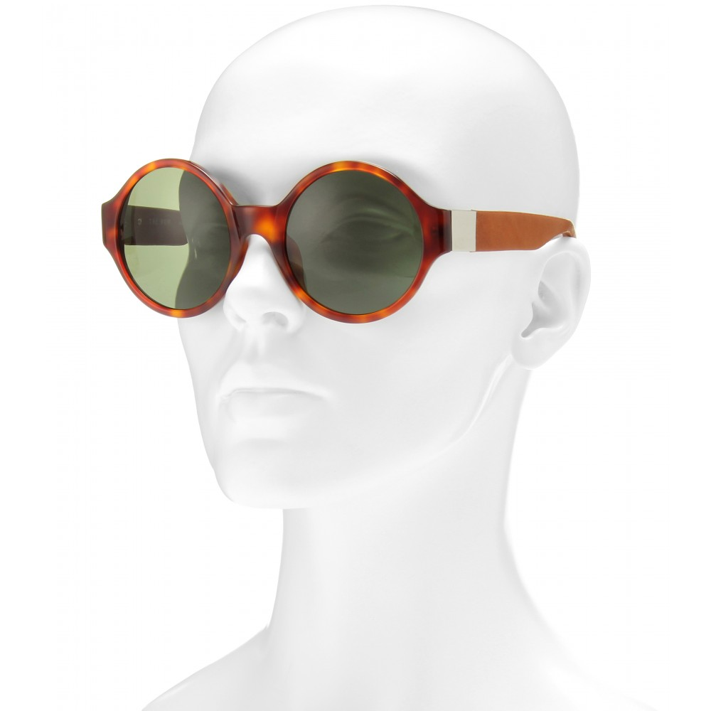 The Row 45 Round-frame Sunglasses in Brown a (Brown)