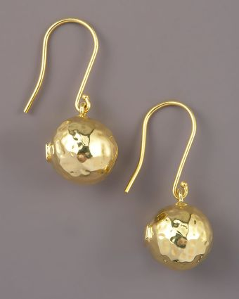 Ippolita Hammered Ball Earrings - Lyst