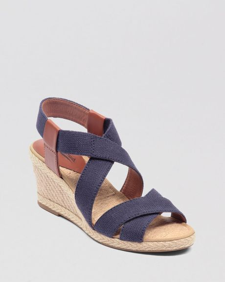 Lucky Brand Espadrille Platform Wedge Sandals Keane In