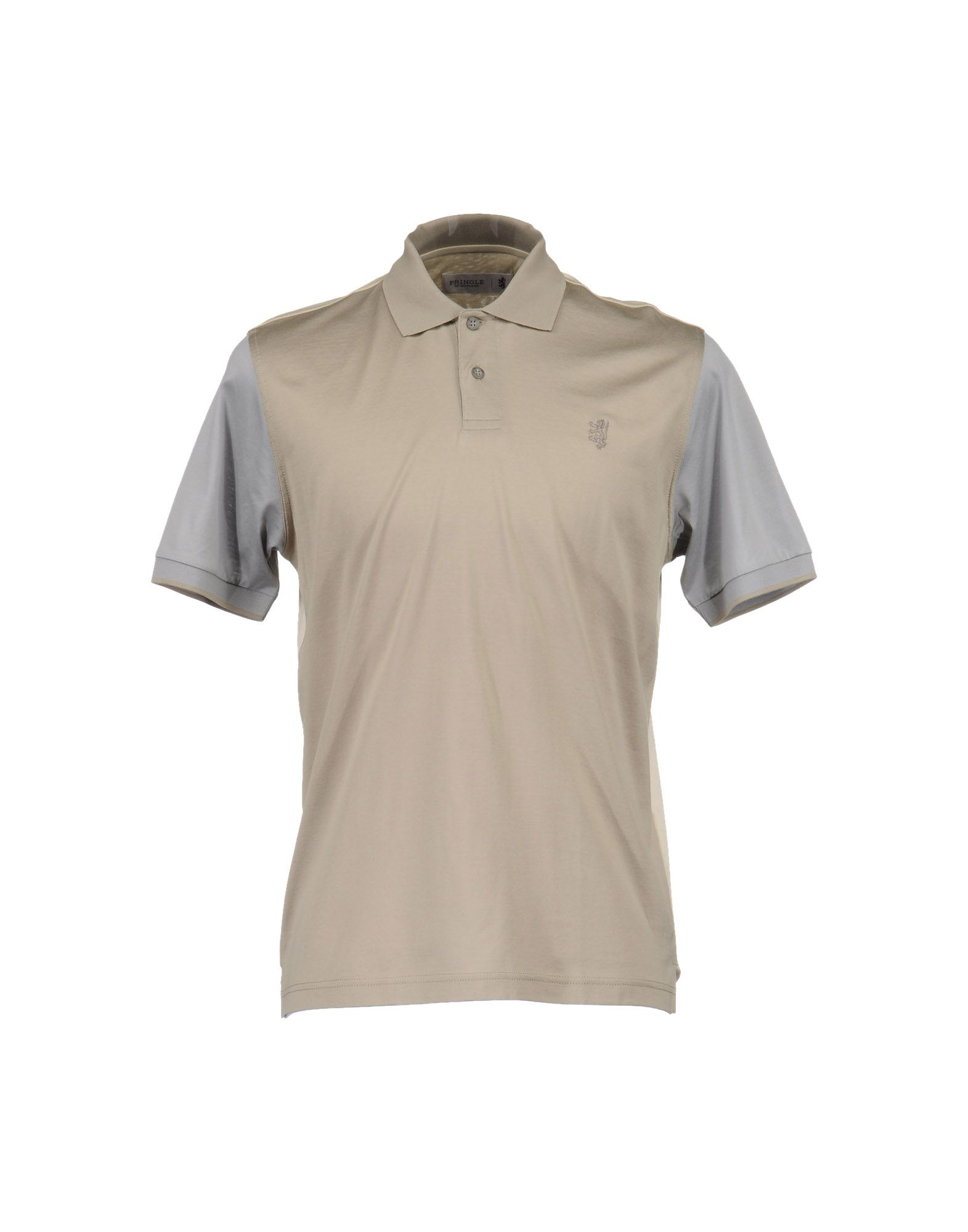 pringle of scotland polo shirts in khaki for men lyst
