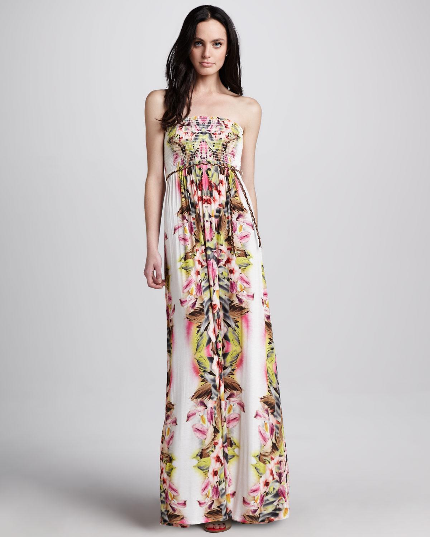 Velvet by graham & spencer Oahu Printed Maxi Dress | Lyst