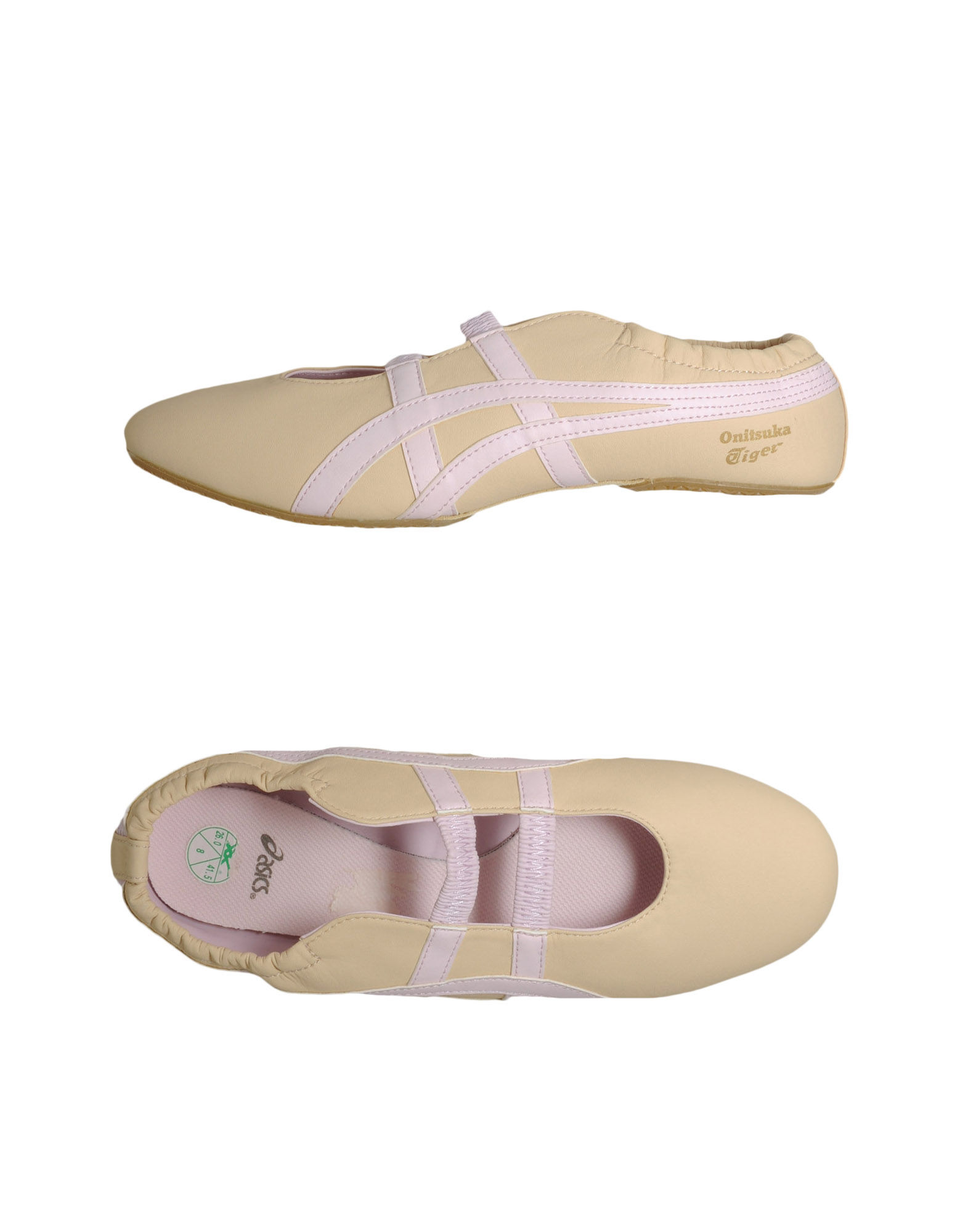 Asics Ballet Flats in Sand (Natural) - Lyst