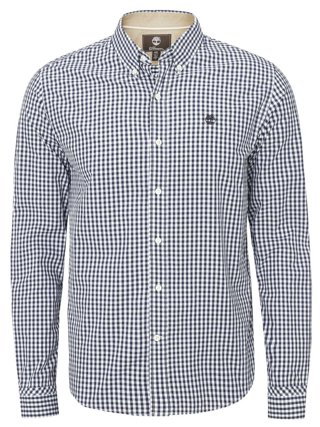 timberland earthkeepers gingham meriden shirt in blue for