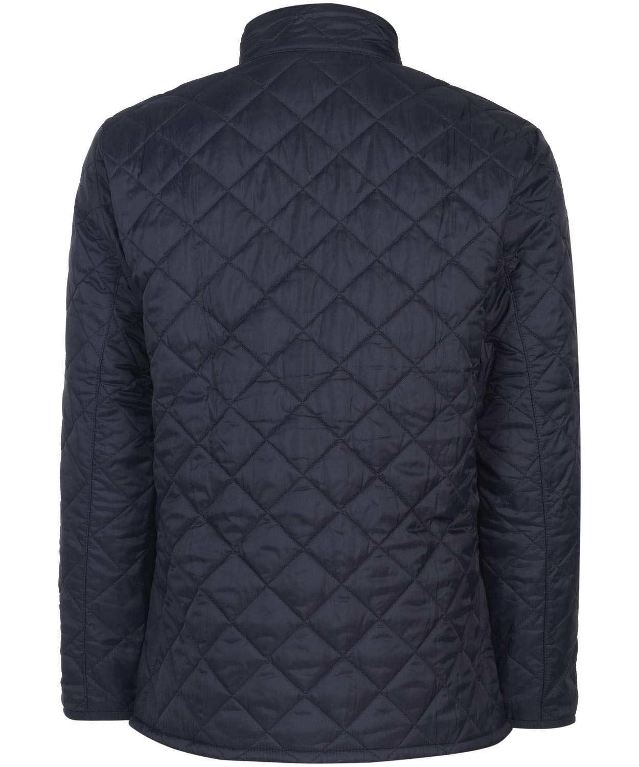 Barbour Navy Brechin Quilted Jacket In Blue For Men Lyst