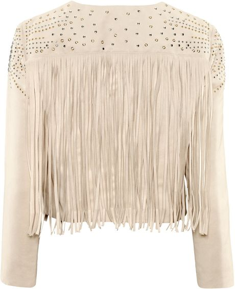 H&m Fringed Jacket in