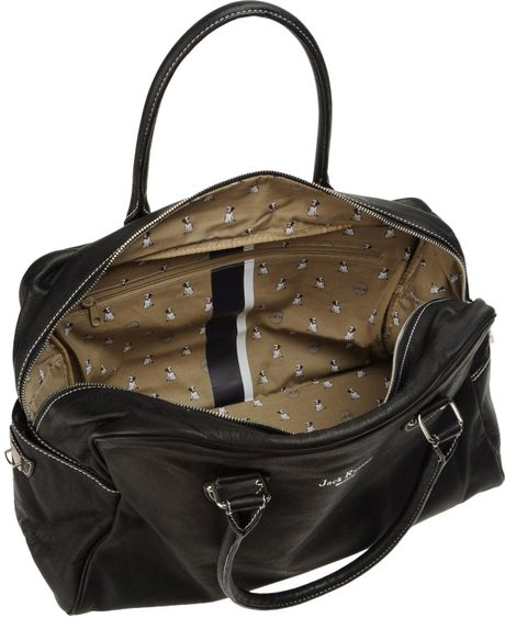 jack russell malletier luggage in black for men lyst. Black Bedroom Furniture Sets. Home Design Ideas