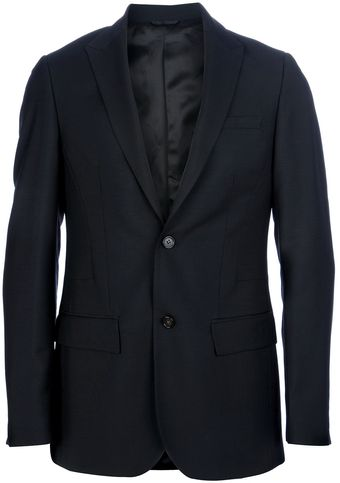 Raf Simons Slim Two Piece Suit - Lyst