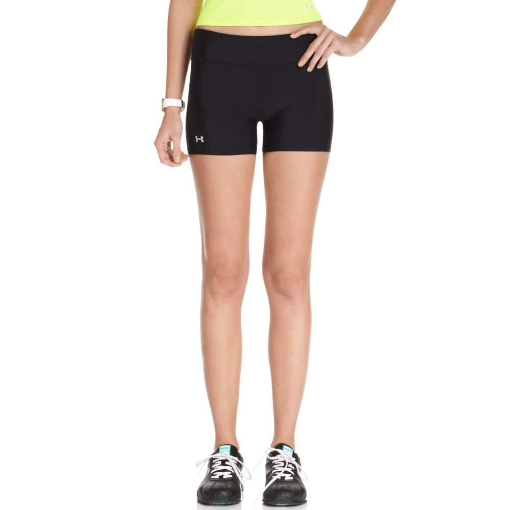 """Under armour Authentic 4"""" Compression Short in Black 