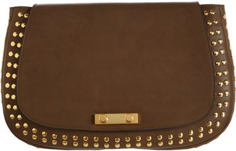 Marni Studded Clutch - Lyst