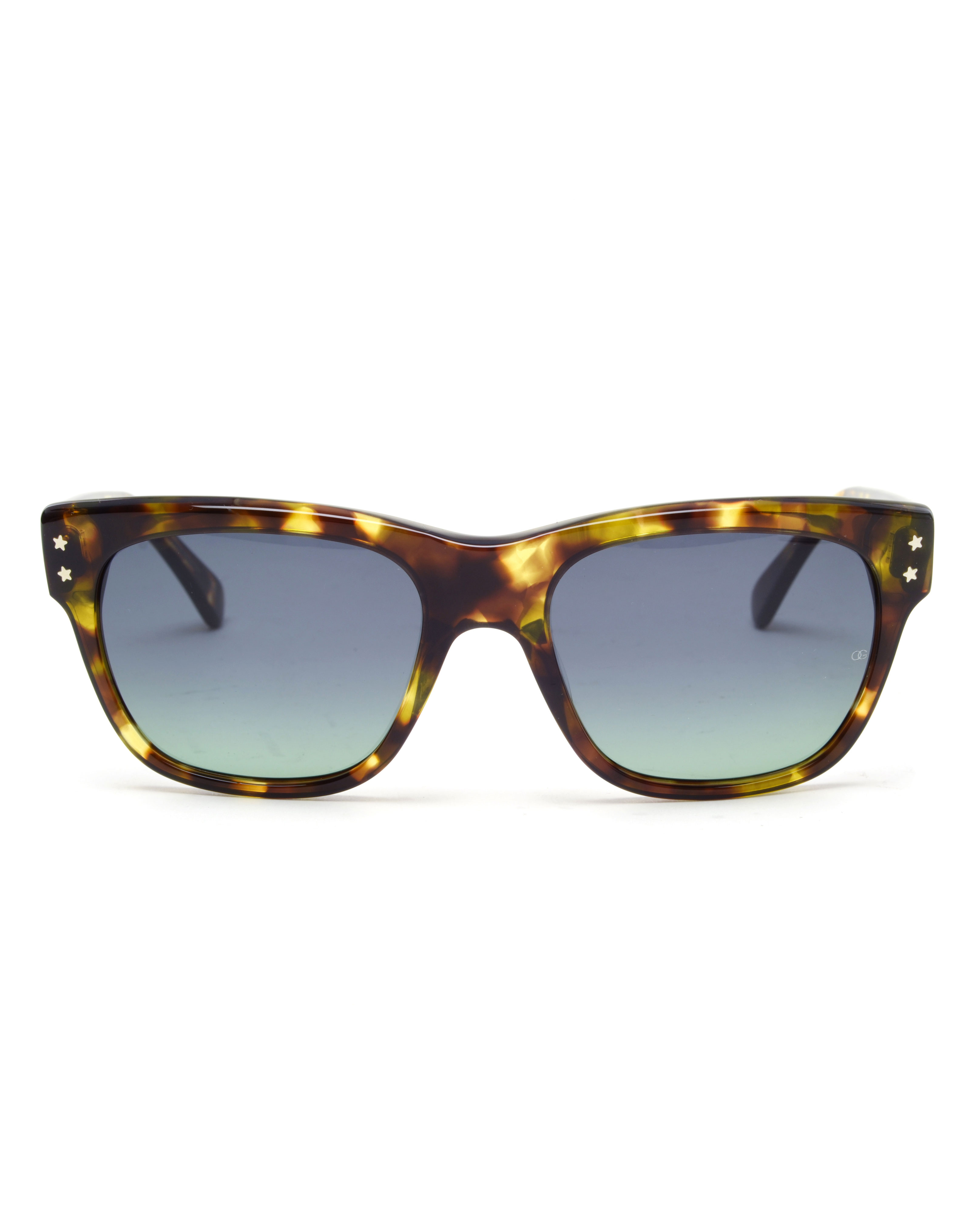 6fb1c4a53b Oliver Goldsmith Lord Split Acetate Sunglasses in Brown - Lyst
