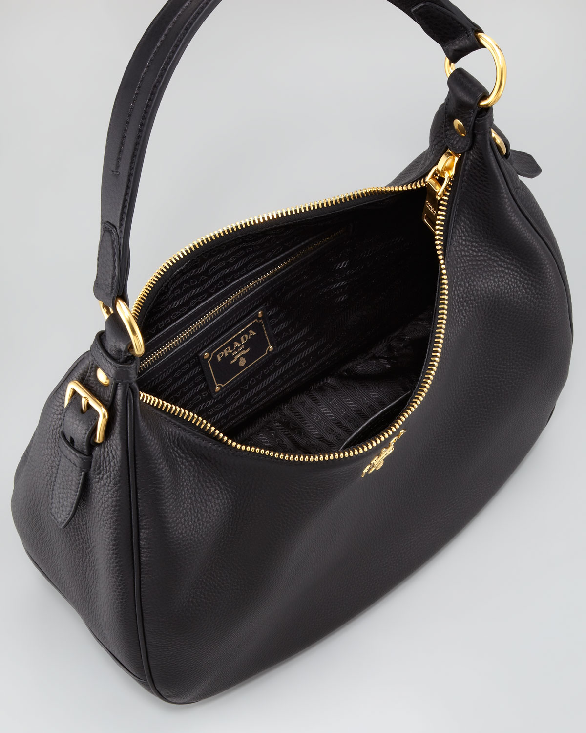 Long Handle Leather Tote Bag