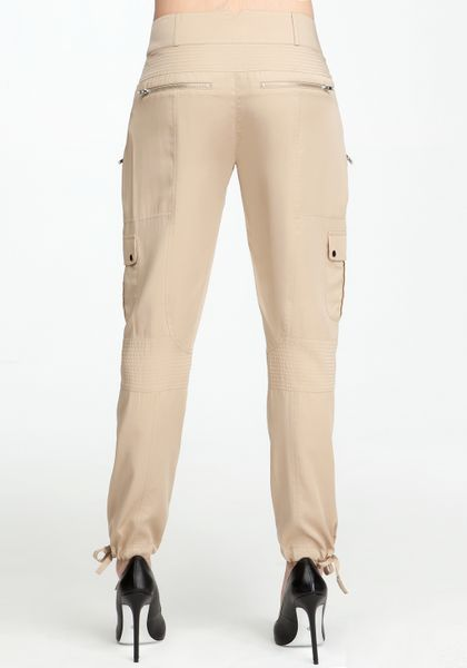 Beautiful Uniqlo Skinny Fit Cargo Pants In Beige  Lyst