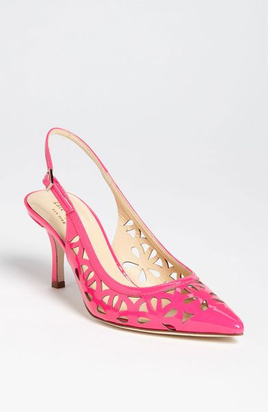 kate spade jacey in pink lipstick pink patent lyst