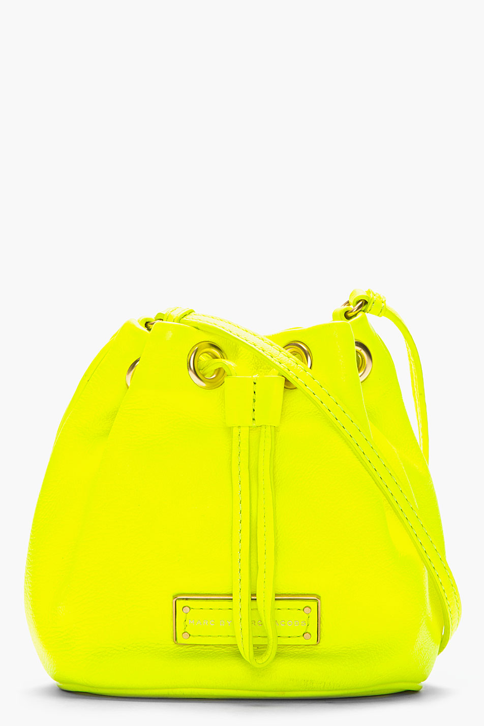 Marc By Marc Jacobs Mini Neon Yellow Leather Too Hot To ...