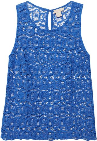 Collette By Collette Dinnigan Portobello Lace Sleeveless Top - Lyst