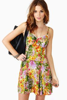 Nasty Gal Paint By Numbers Sundress - Lyst
