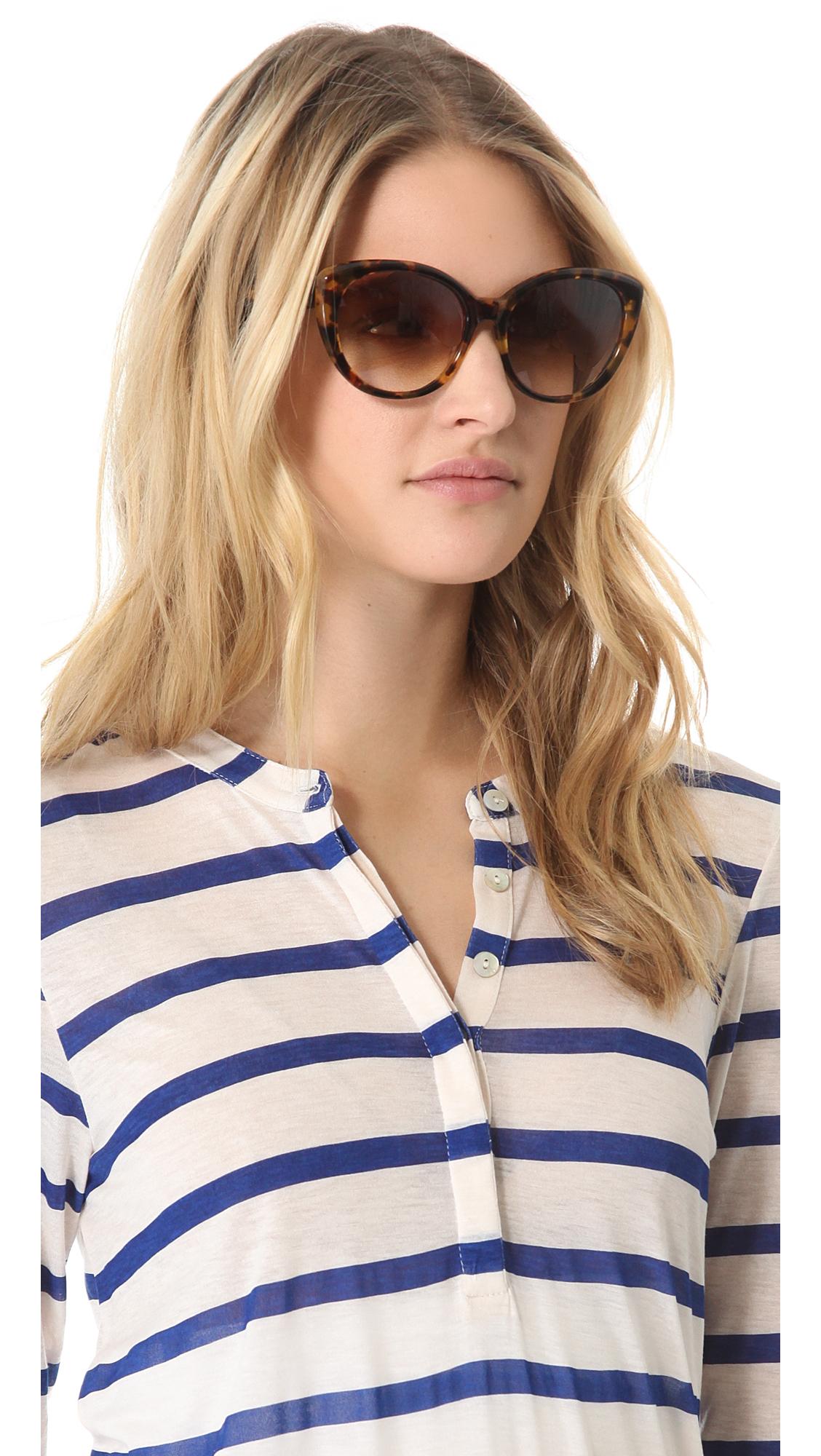 5129ca11512 Lyst - DITA Amant Sunglasses in Brown