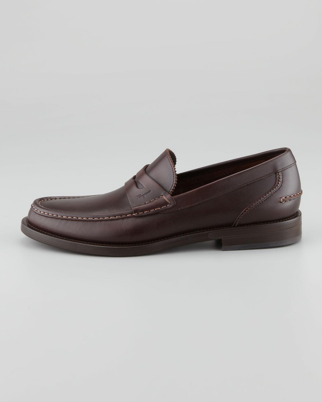 8485514999f70 Ferragamo Titano Penny Loafer Brown in Brown for Men - Lyst