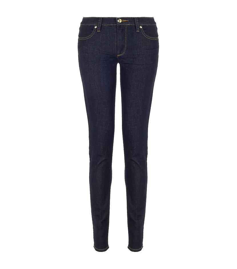 Juicy couture Dark Rinse Skinny Jeans in Blue