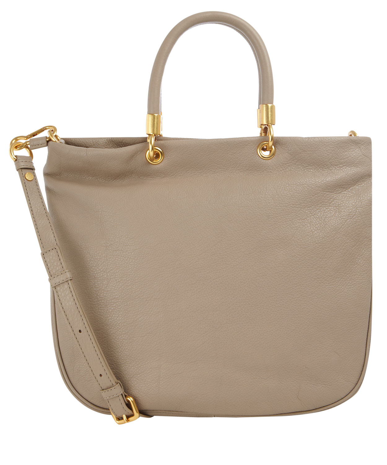 Marc By Marc Jacobs Taupe Too Hot To Handle Tote Bag in Brown