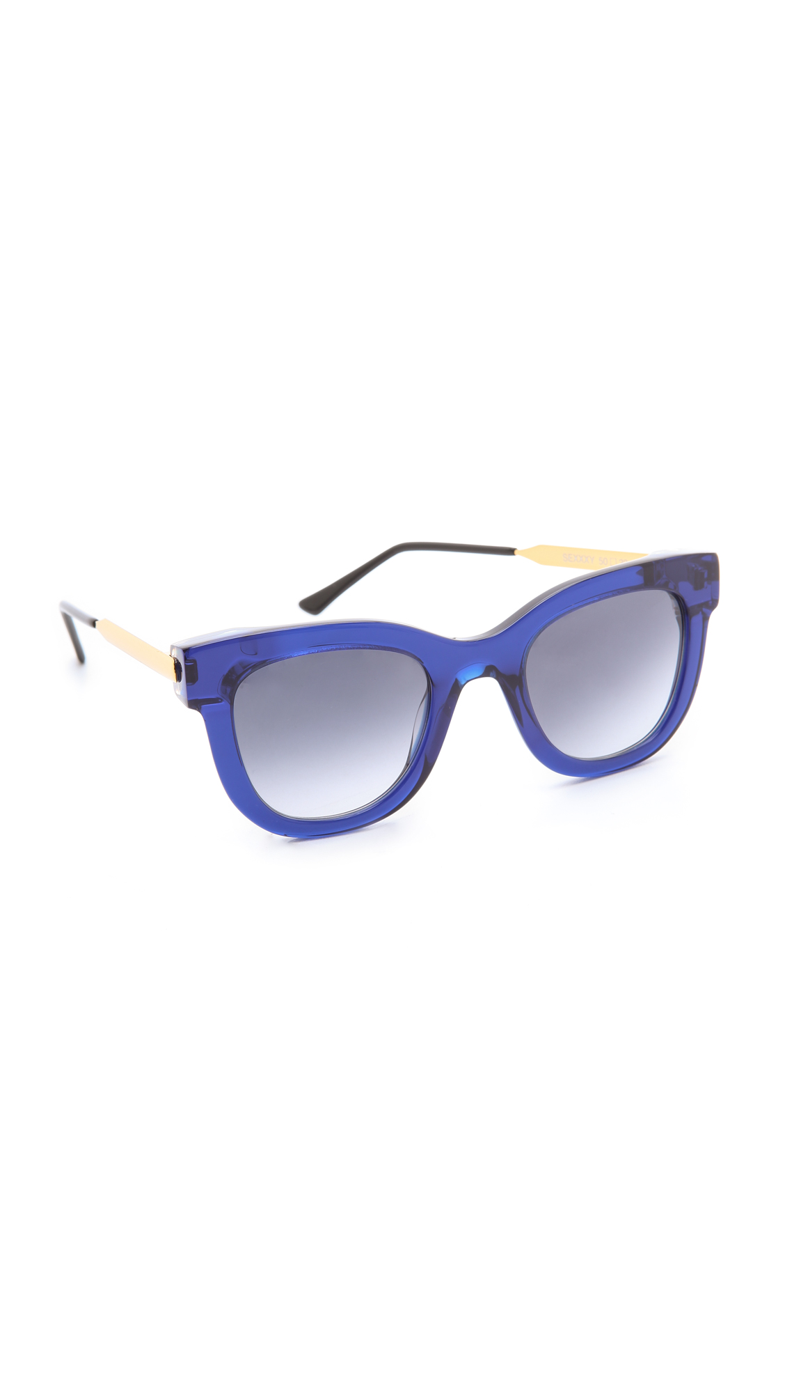 Thierry lasry Sexxxy Sunglasses in Blue (Navy)