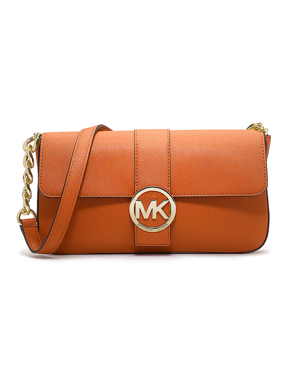 Michael By Michael Kors Fulton Saffiano Leather Small Flap