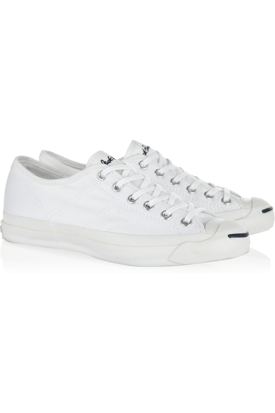 c4161be4e983 Lyst - Converse Jack Purcell Helen Canvas Sneakers in White