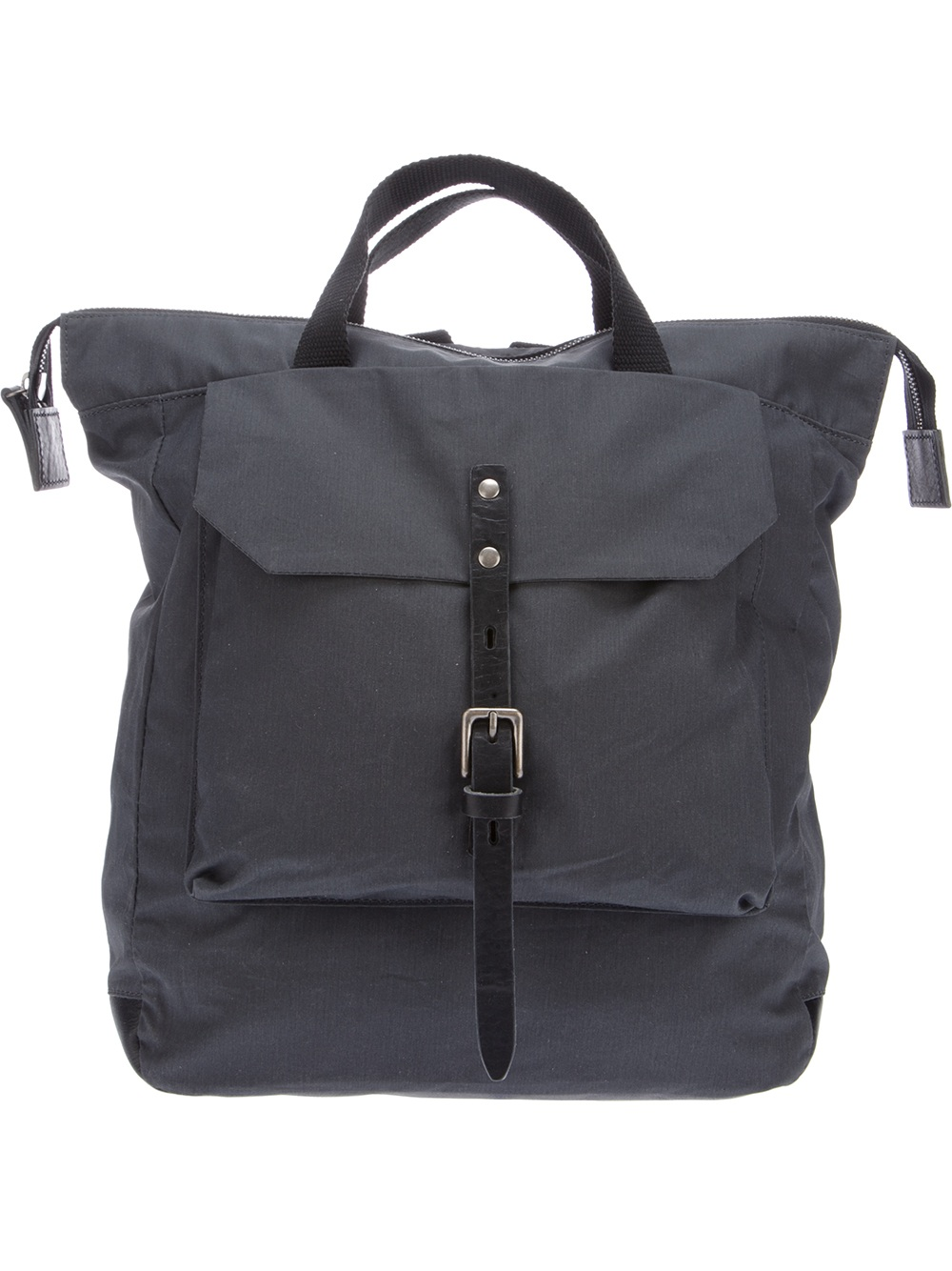 Ally Capellino Frances Backpack In Grey Gray Lyst