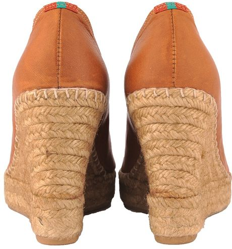 Penelope Chilvers Wedges Penelope Chilvers Tan