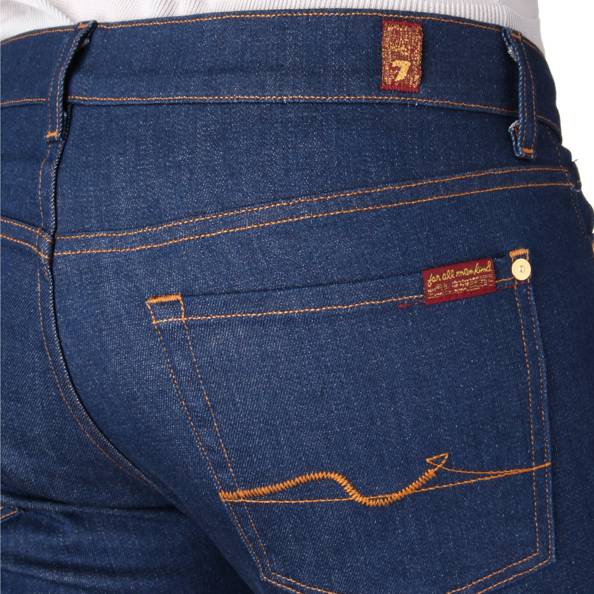 7 For All Mankind Cotton Slimmy Straight Leg Jean in Sky (Blue) for Men