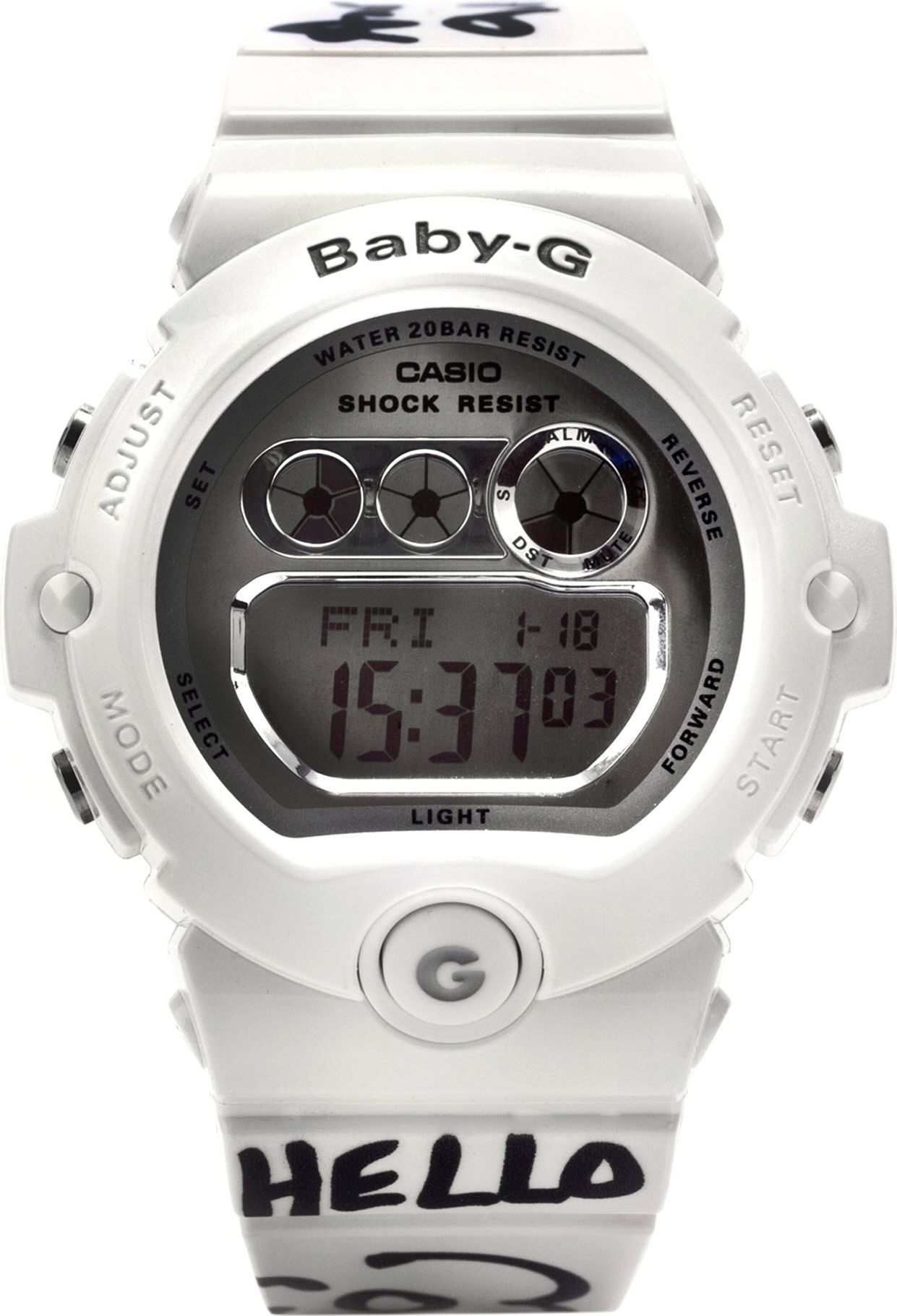 G Shock Antoni Alison Babyg Limitededition Digital Watch In White Casio Dw 6900nb 7dr For Men Lyst