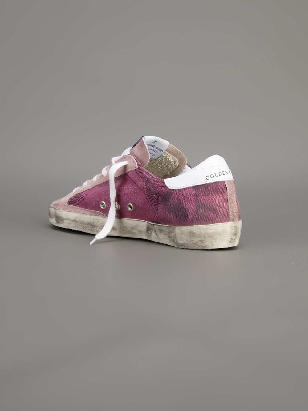 Golden Goose Deluxe Brand Superstar Trainer in Lilac (Pink)