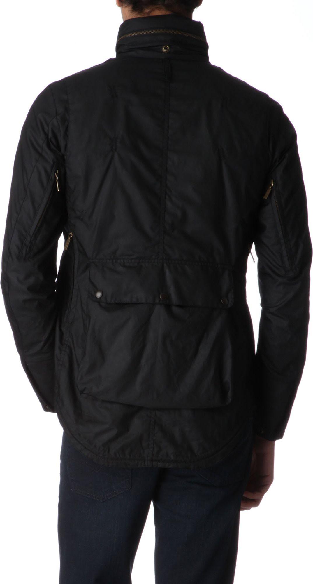 Barbour Lightweight Motorcycle Jacket In Black For Men Lyst