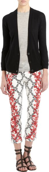 Isabel Marant Button Front Cardigan - Lyst