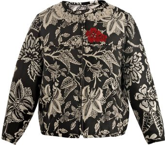 Isabel Marant Hawaiian Silk Bomber jacket - Lyst