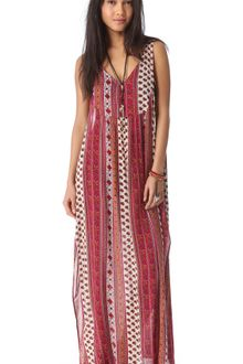 Mink Pink Maya Cover Up Maxi Dress - Lyst