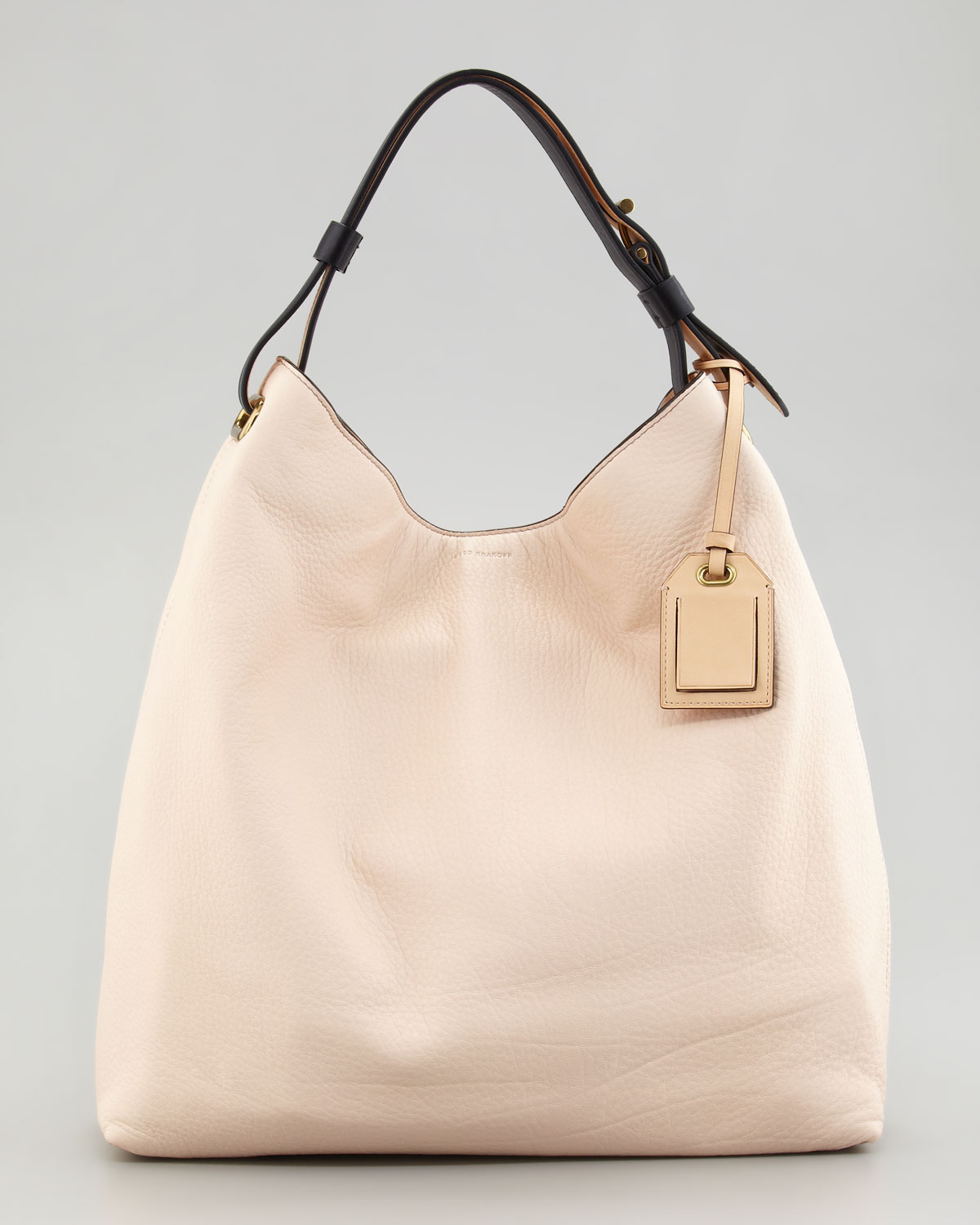 ed75c6f40866 Lyst - Reed Krakoff Rdk Leather Hobo Bag in Natural