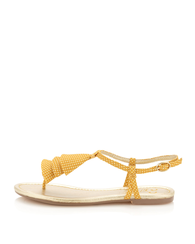 Lyst Seychelles Cruel World Polkadot Flat Sandals